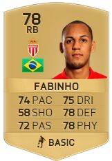 FIFA 16 Player Fabinho