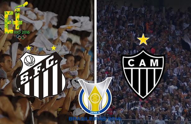Santos x Atlético