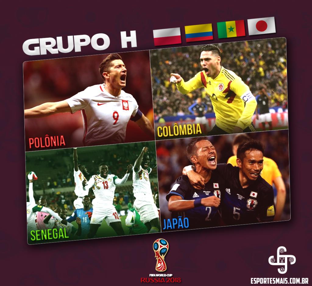 Grupo H – Especial Copa do Mundo