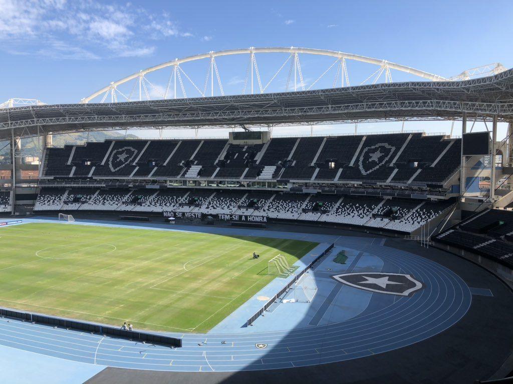 Botafogo x Grêmio - Estádio Nilton Santos