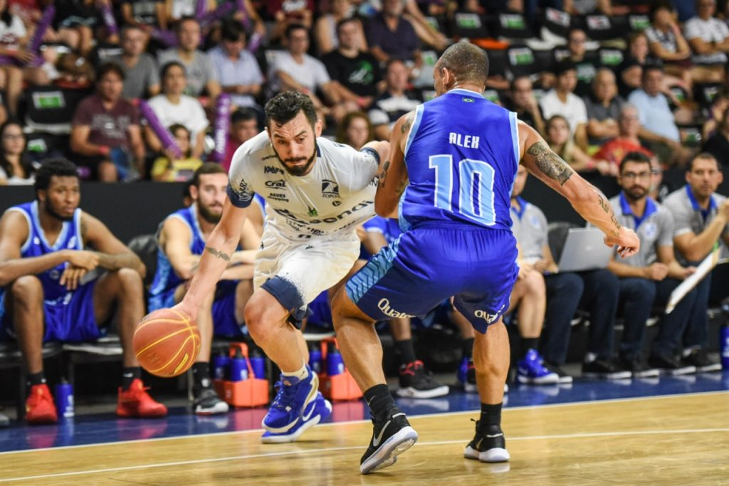 Faggiano e Alex Garcia – Bauru Basket
