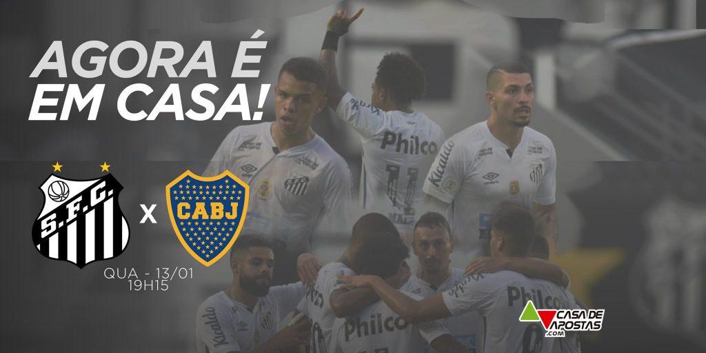 Santos x Boca